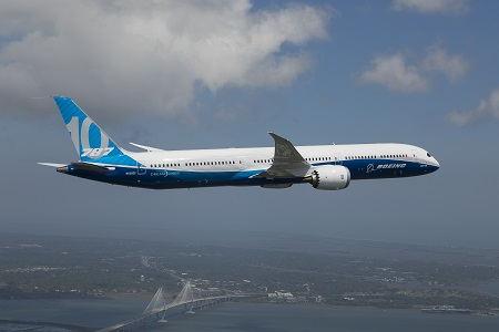 787-10 First Flight