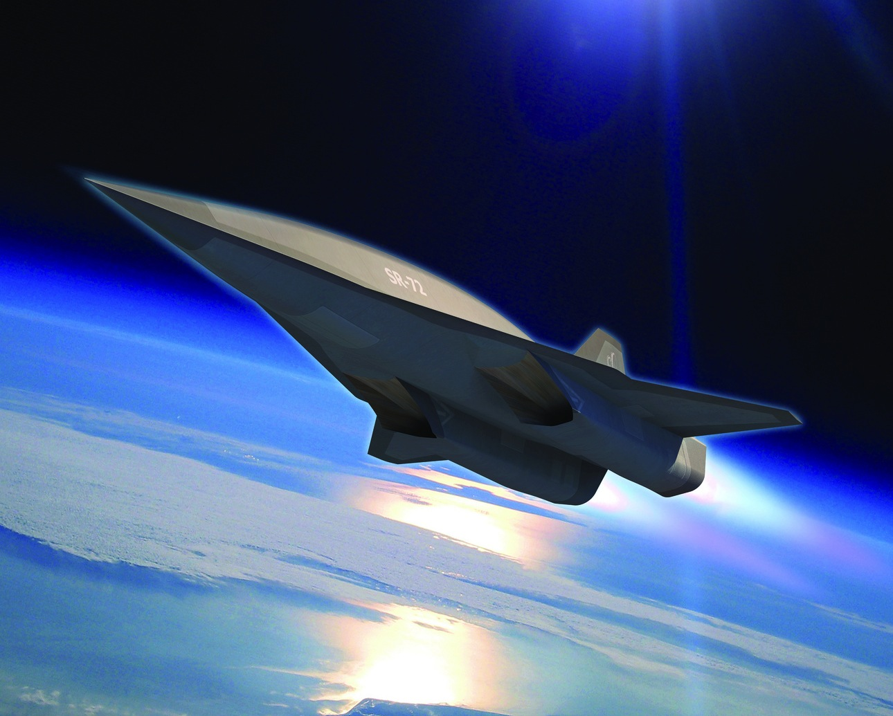 возможный вид SR-72 Lockheed-Martin