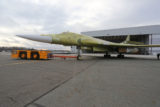 Выкатка Ту-160М на КАПО