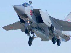 МиГ-31БМ с АРК Кинжал