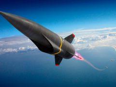 Концептуальное изображение гиперзвуковой неядерной крылатой ракеты авиационного базирования по программе ВВС США Hypersonic Conventional Strike Weapon (HCSW) (с) Lockheed Martin
