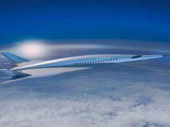 Концепт гиперзвукового пассажирского самолета Boeing