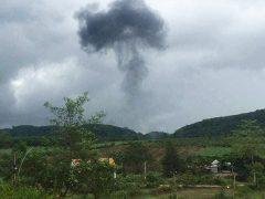 Катастрофа Су-22УМ3 бортовой номер 8551 ВВС Вьетнама
