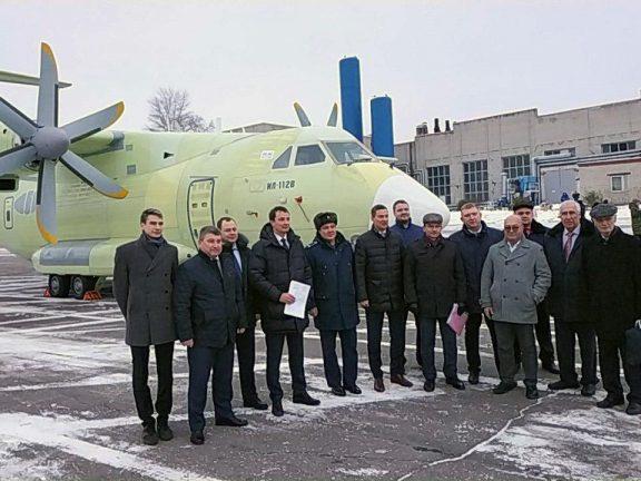Выкатка Ил-112В