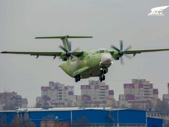 Ил-112В совершил первый полет