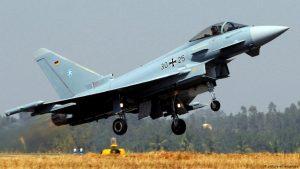 истребитель Eurofighter бундесвера