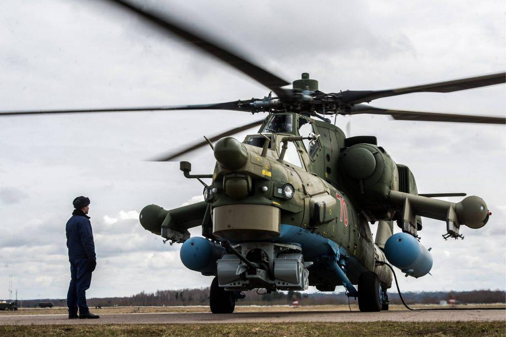 Вертолет Ми-28Н Сергей Бобылев/пресс-служба Минобороны РФ/ТАСС