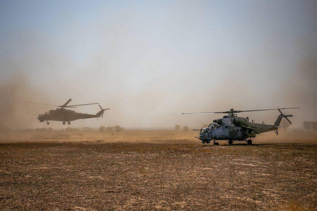 Вертолеты Ми-24 и Ми-35М Виталий Тимкив/ТАСС