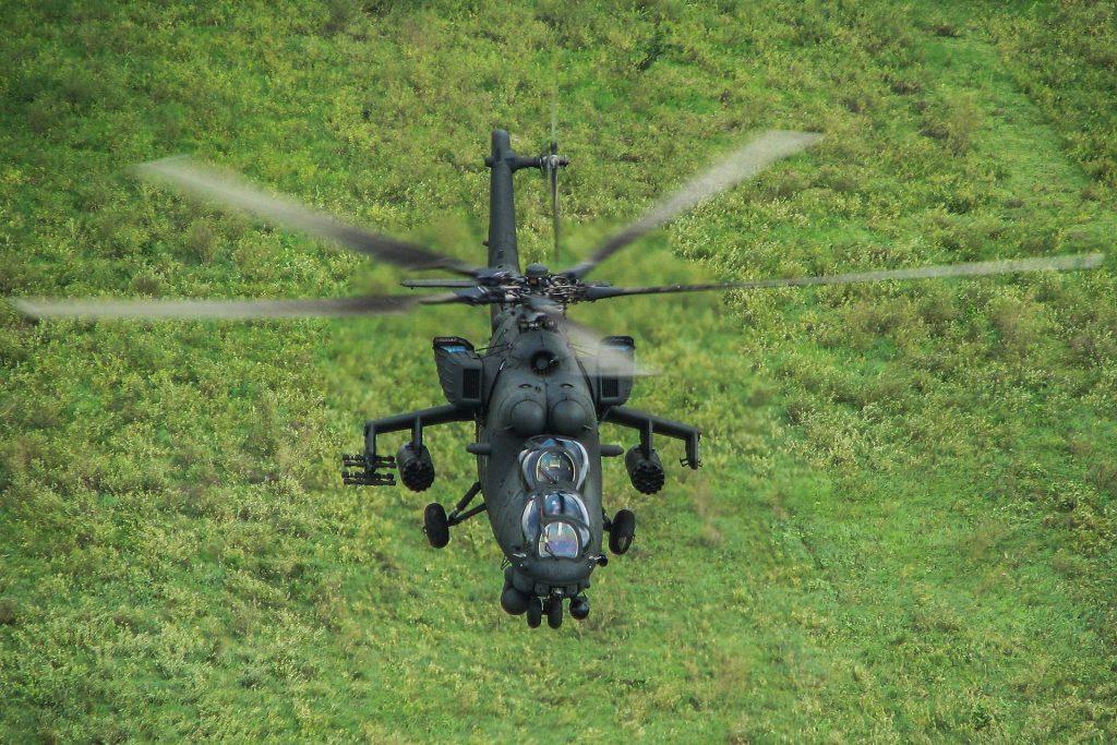 Вертолет Ми-35М Тина Шапошникова/ТАСС