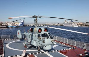 "Вертолет Ка-27 на корвете ""Стерегущий"" © Алексей Михеев/АО ""Камов"""