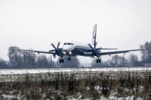 Первый полет Ил-114-300