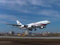 первый полет очередного серийного самолета Ил-96-300