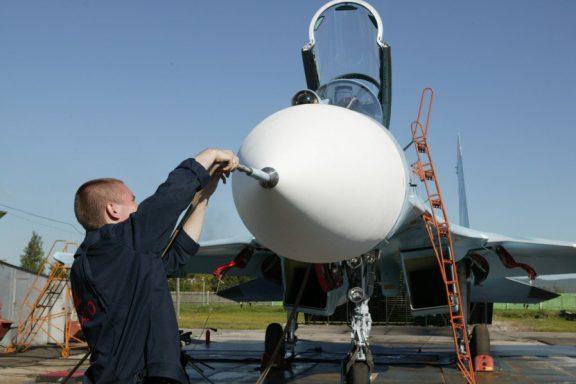 Моторно-испытательная станция КнААЗ, подготовка к «гонке» двигателя.